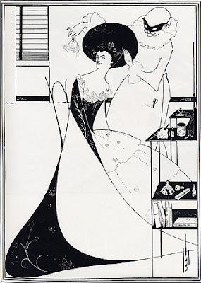 La vignetta di Beardsley la toeletta di Salomè
