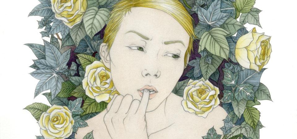 [ − と + ] Blog | Rachel Fujii illustration