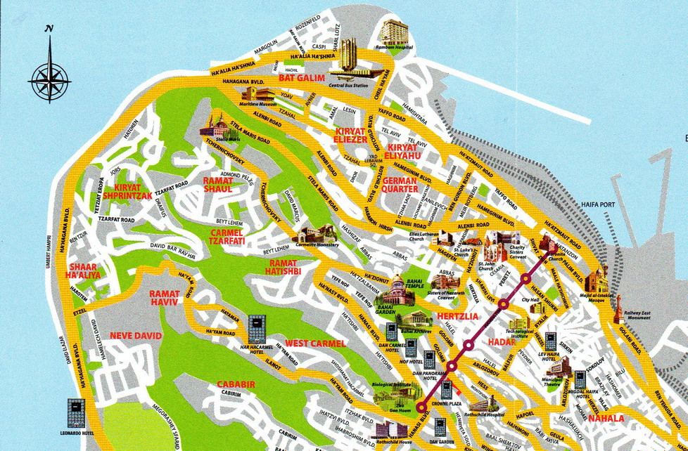 Traveler Als Wanderings Haifa Akko Acre Israel
