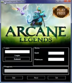 Arcane Legends Hack Trainer Tool Gold Platinum