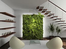 decoración con jardín vertical