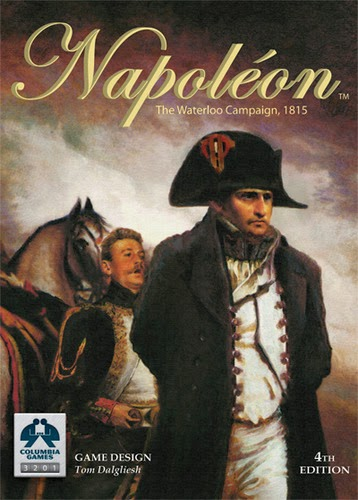 Napoléon boardgame box cover