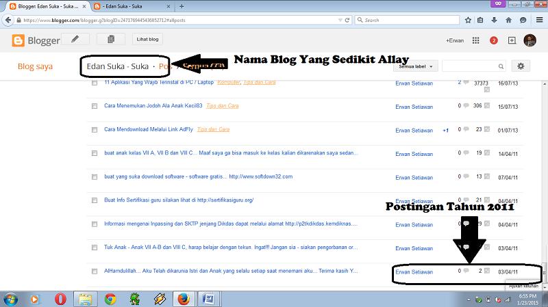 Awal Kenal Blog