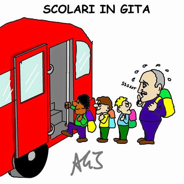 vignetta Scolari, Brasile, Mondiali fifa 2014,