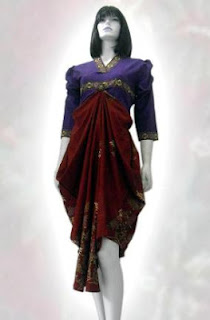 baju+batik+wanita+modern DRESS BATIK MODERN TREND 2013 TERBARU