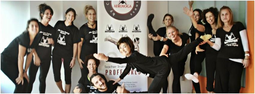 yoga aereo cursos
