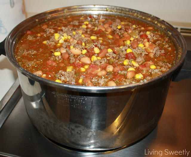 Living Sweetly: Recipe Trial Tuedays: Taco Soup