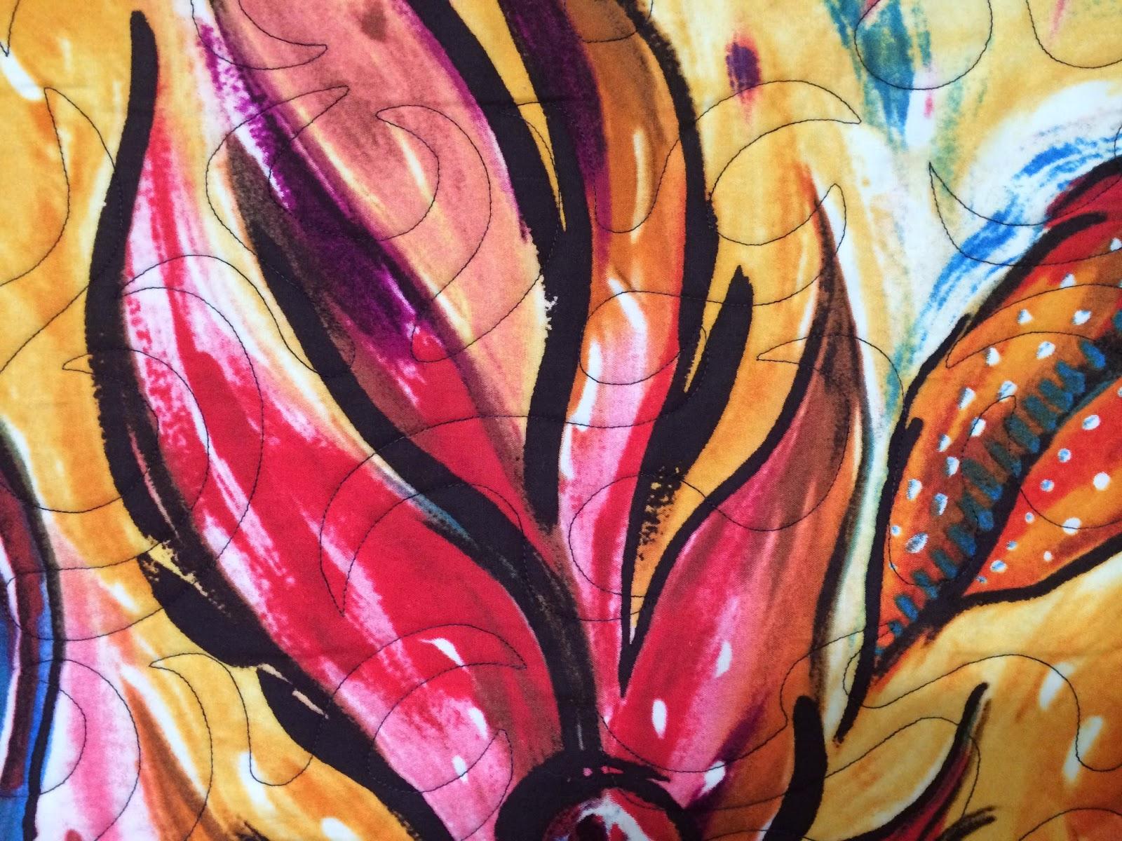 Beth Robertson's Burning Bush Quilt