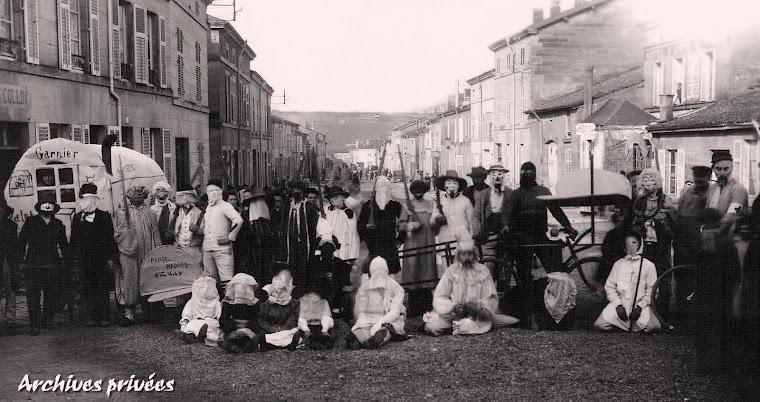 Mardi gras à Robert-Espagne dans les années 1910