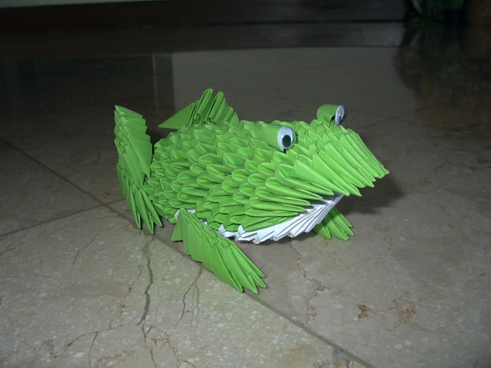 ICHANOKO 3D ORIGAMI INDONESIA: Model 3d origami - ANIMALS - photo#8