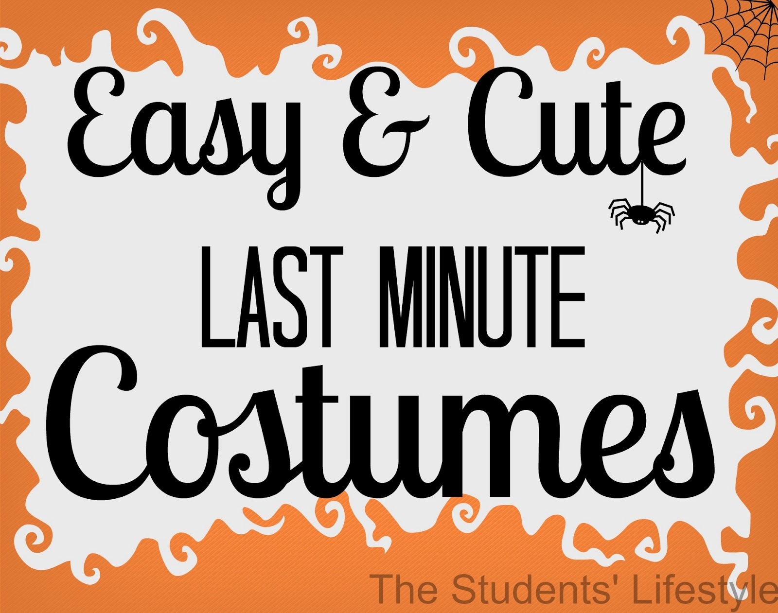 Easy%2Band%2BCute%2BLast%2BMinute%2BCostumes easy and cute last minute costumes the students' lifestyle,Last Minute Invite
