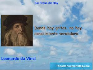 Frase célebre de Leonardo da Vinci