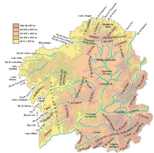 Gua De Formacin Online  Geografia Fisica de Espaa II Montes