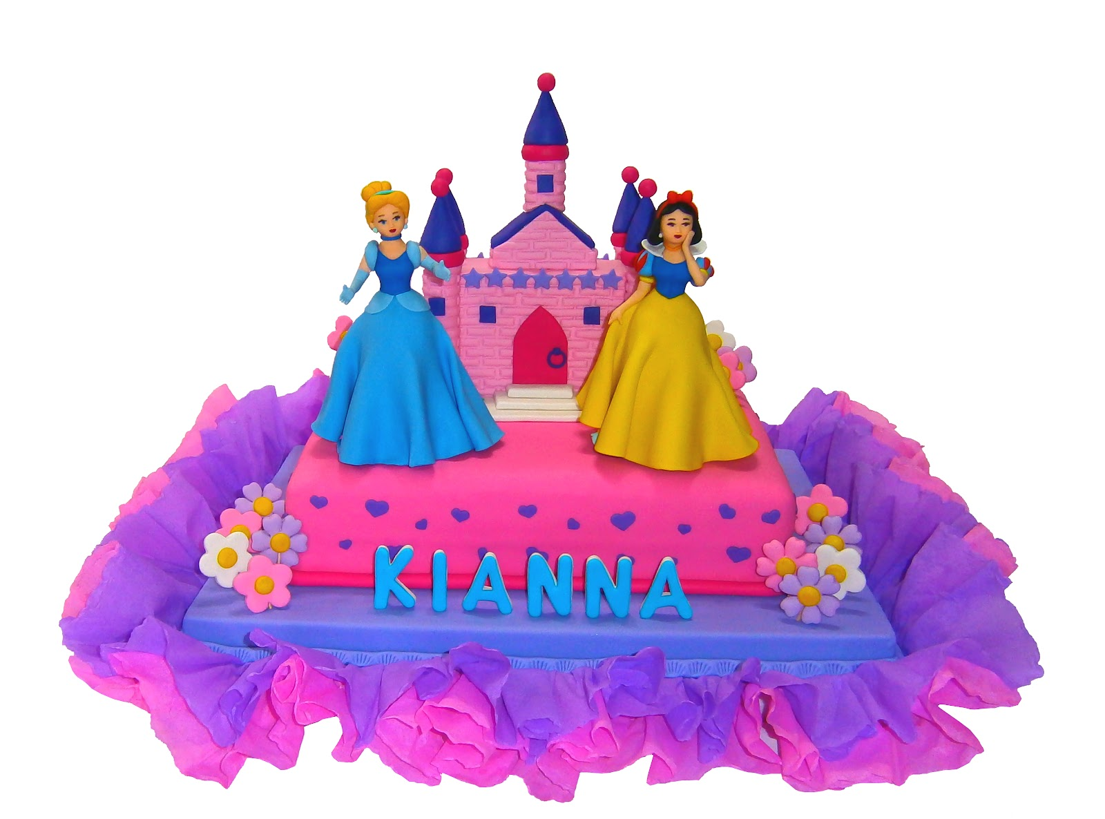 Torta princesas de Disney - Imagui