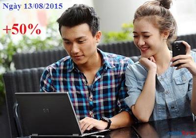 Khuyến mãi 50% cho thuê bao Mobifone thanh toán trực tiếp