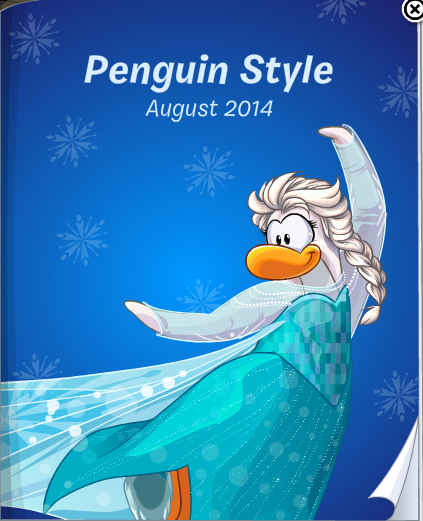 Club Penguin August 2014 Penguin Style Catalog Cheats