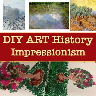 DIY Art History: Impressionism (Lesson Plan)