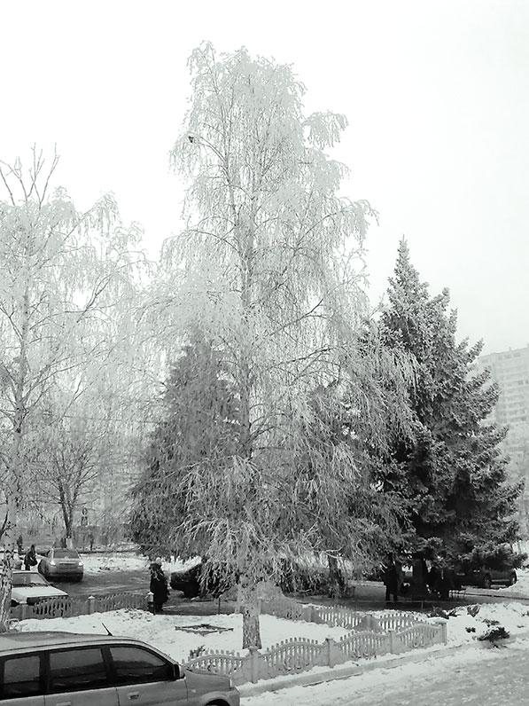 березка заснеженная пушистое кружево снежное Ro-Ksana.blogspot.com бисероплетение украшения бисера натуральными камнями хендмейд бижутерия подарки  женщине handcrafted