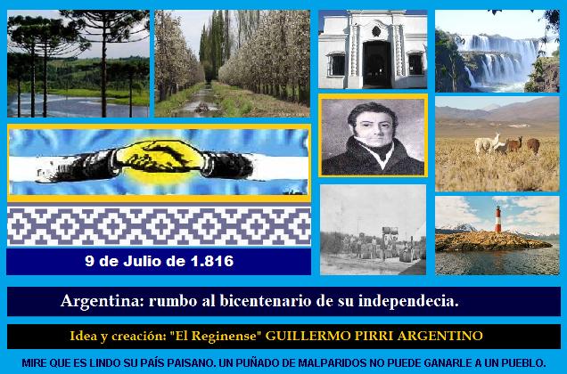 LA ARGENTINA: RUMBO AL BICENTENARIO.