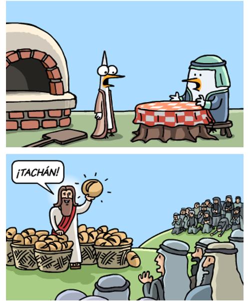 La parte de la Biblia que no nos cuentan - 'La multiplicación de los panes'