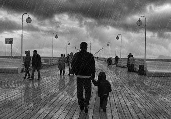 Add Dramatic Rain to a Photo in Photoshop