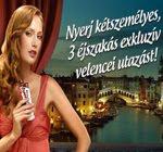 Velencei utazás nyeremény