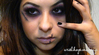 Ariel Hope Halloween Makeup Dead Girl