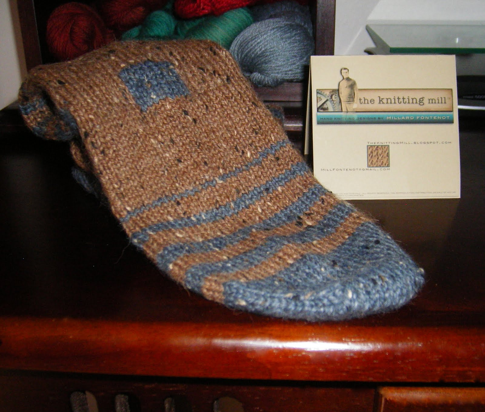 The knitting mill new free knitting pattern new free knitting pattern the jogless hiking sock bankloansurffo Gallery