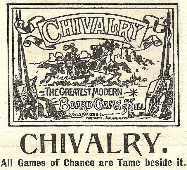 Chivalry Board Game Royalty Free Clip Art Antique Advertisement Graphic via KnickofTimeInteriors.blogspot.com