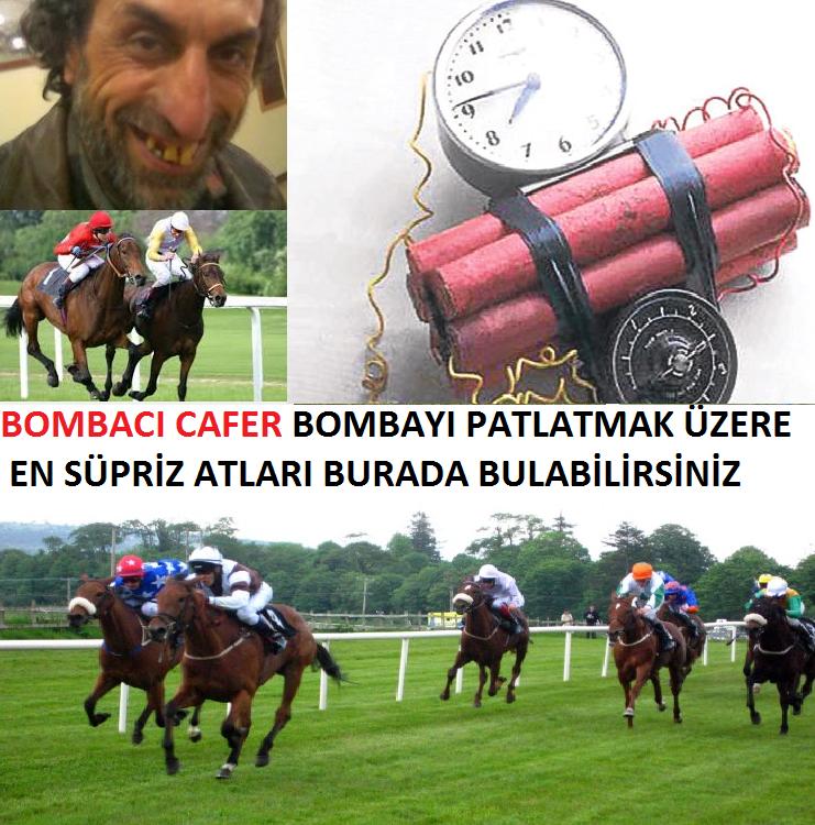 Bombacı CAFER iş başında tüm bomba atlar süpriz atlar burada