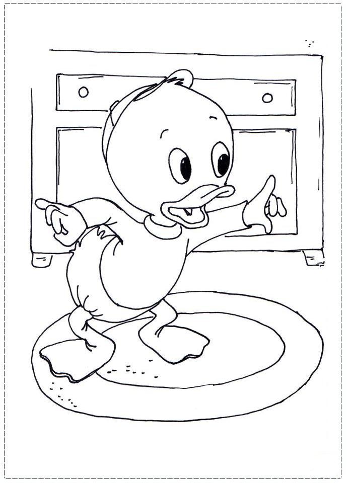 a desenhar pato donald huguinho zezinho e luisinho colorir