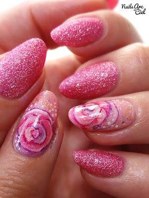 Façon Tartofraises, par Nails Arc en Ciel