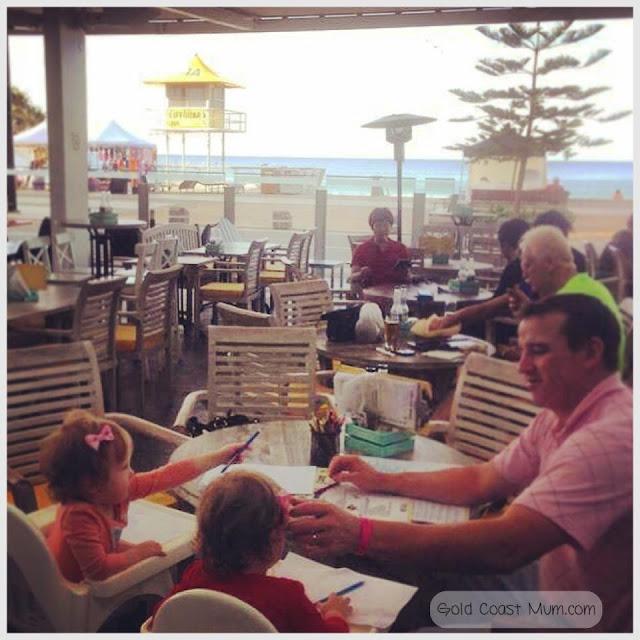 The Surfers Paradise Beach Cafe, Gold Coast Queensland. Photo copyright: Gold Coast Mum.com