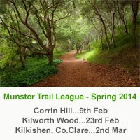 Munster Spring Trail Series...Kilworth, NE Cork...23rd Feb