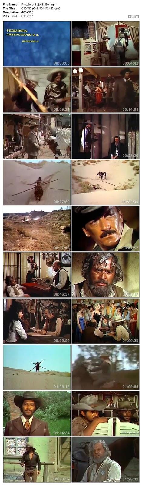 Descarga Peliculas Mexicanas Fernando Almada Pistoleros Bajo El Sol DVDRip 1974