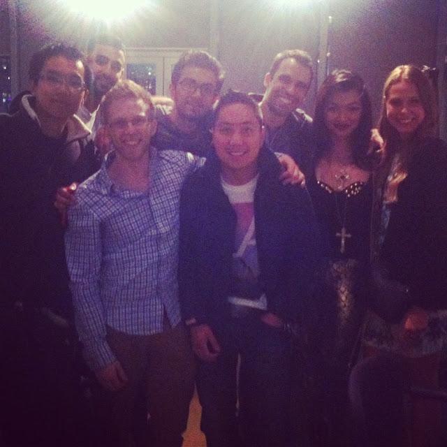 kuratestyle team at startup weekend