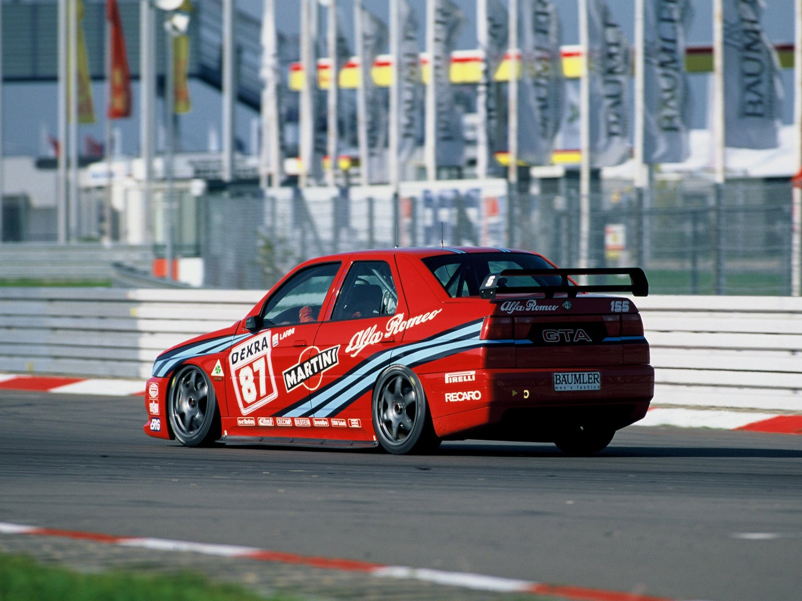 Car And Car Zone Alfa Romeo 155 2 5 V6 Ti Dtm 1993 New