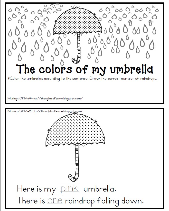 musings of me: Put your umbrellas up!