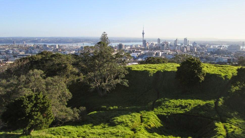 Panorama sur la City depuis Mont Eden