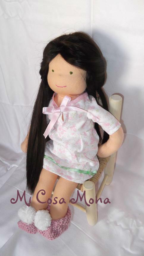 Mi Cosa Mona: Muñecas Waldorf