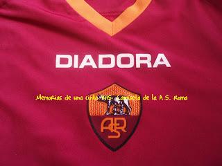 camiseta Roma, Diadora