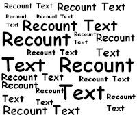 Recount Teks adalah teks yang menceritakan kembali suatu peristiwa