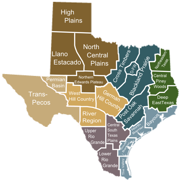 Texas Indian Tribes Map Submited Images