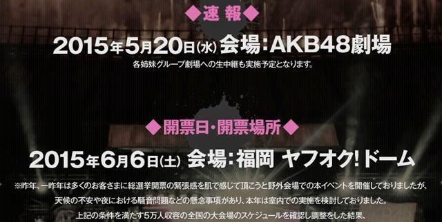 Prediksi General Election AKB48 2015 Versi Majalah Grup AKB48 dan Weekly Playboy