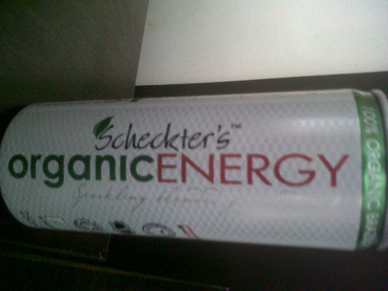 Scheckter's Organic energy Sparkling Fruit Drink