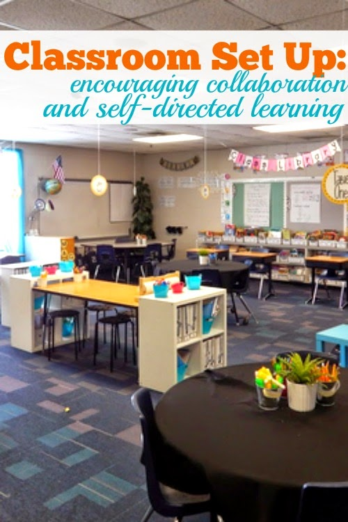 Collaborative Classroom Setup ~ New classroom set up encouraging self directed learning