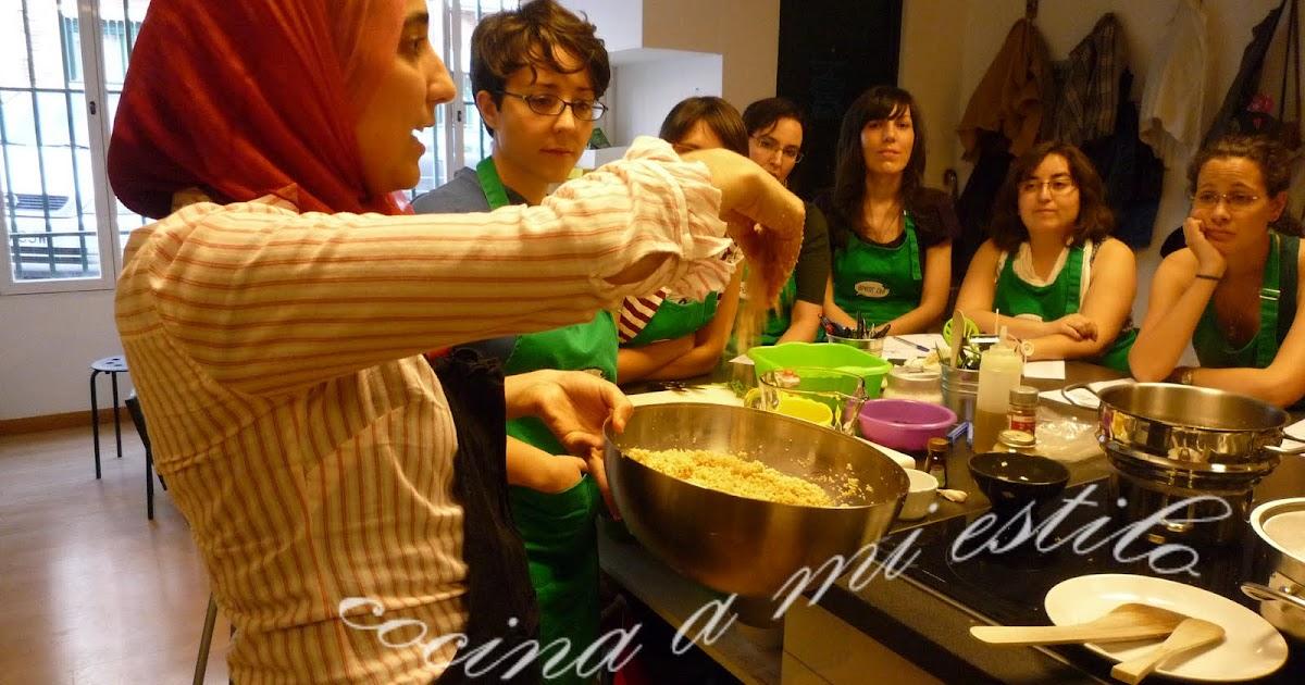 Cocina a mi estilo 1 curso de cocina rabe - Curso de cocina para solteros ...