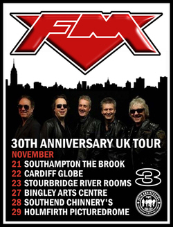 FM 30th Anniversary Tour Dates