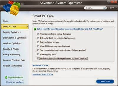 Advanced System Optimizer v3.6.1000.15950 Portable