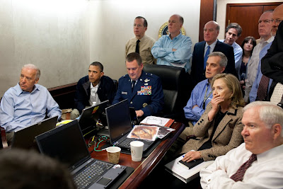 Bin laden operation being watched at the White House